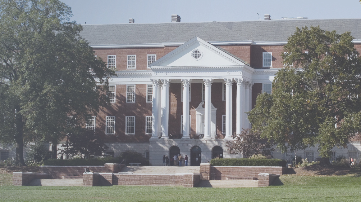 university of maryland campus shot